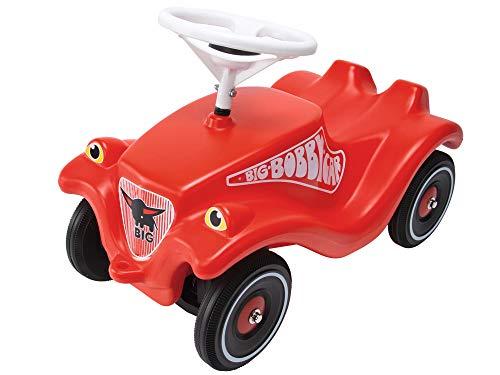 BIG Spielwarenfabrik 800001303 Classic - Kinderfahrzeug für Jungen und Mädchen, klassisches Rutschfahrzeug belastbar bis 50 kg, für Kinder ab 1 Jahr, rot