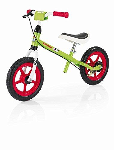 Kettler Laufrad Speedy Emma 2.0 – das ideale Lauflernrad – Kinderlaufrad mit Reifengröße: 12,5 Zoll – stabiles & sicheres Laufrad ab 3 Jahren – grün & rot