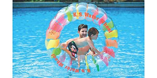 Jilong Water Wheel Ø 125cm Pool Wasser-Laufrad Hamsterrad Schwimmbad Wasserspielzeug Wasserwalze