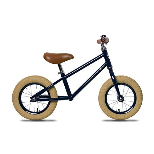 Rebel Kidz Unisex– Erwachsene Laufrad-3096041600 Laufrad, schwarz, 12,5