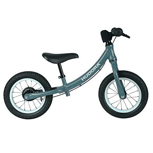 HUDORA 10426/00 Laufrad Advanced Alu, blau | Kinder Laufrad mit 12 Zoll Luftbereifung | Lauflernrad inkl. höhenverstellbarem Sattel & Lenker | Kinderlaufrad ab 3 Jahre