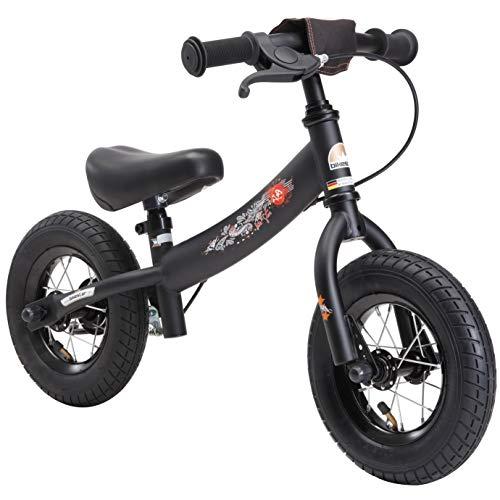 BIKESTAR Kinder Laufrad Lauflernrad Kinderrad fr Jungen und Mdchen ab 2-3 Jahre | 10 Zoll Sport Kinderlaufrad | Schwarz