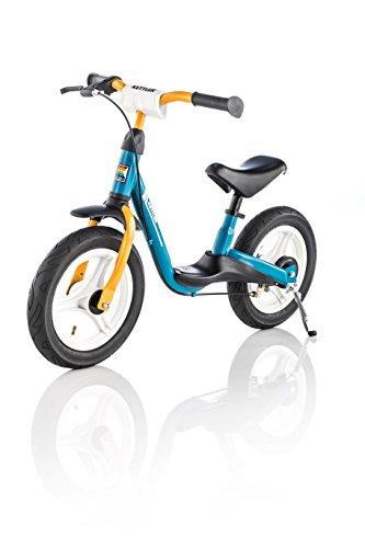 Kettler Laufrad Spirit Air 2.0 das ideale & verstellbare Lauflernrad Kinderlaufrad mit Reifengre: 12,5 Zoll mit Luftbereifung stabiles & sicheres Laufrad ab 3 Jahren blau & gelb