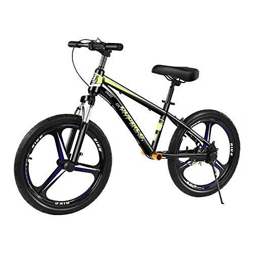 ZLI Laufräder Erwachsenen No-Pedal Balance Bike, 16in/20in Luftreifen, Tragbares Trainingsfahrrad mit Bremse & Fußstütze, für Anfänger Ride Exercise Ride (Color : Green, Size : 16Inch)