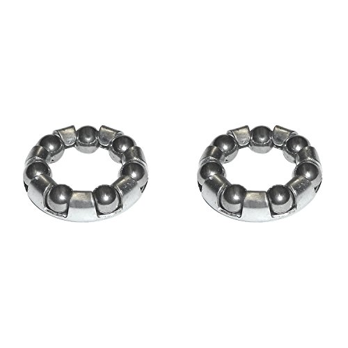 Import Unisex– Erwachsene Kugelring-2162522100 Kugelring, Grau, One Size