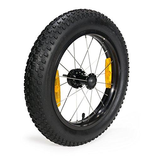 Burley Unisex– Erwachsene Laufrad-3091981300 Laufrad, Schwarz/Silber, Einheitsgröße